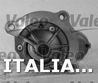 1 MOTORINO D'AVVIAMENTO  VALEO FIAT, CITROËN, PEUGEOT, MITSUBISHI, LANCIA