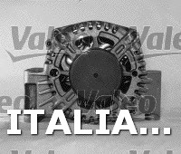 1 ALTERNATORE  VALEO FIAT, ALFA ROMEO, VAUXHALL, SUZUKI, SUBARU, LANCIA